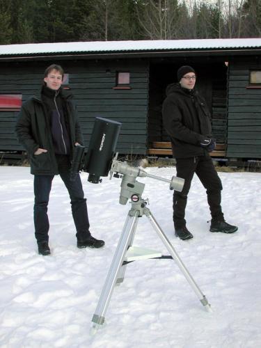 Anders og Sten m/Orion Argonaut