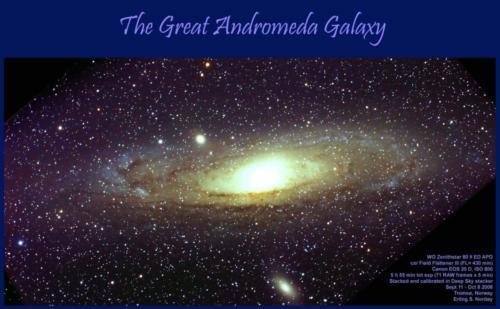 Andromeda galaksen - 11.9.-8.10.2008