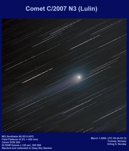 Komet C/2007 N3 (Lulin)