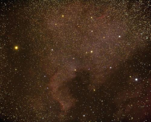 NGC7000 Nord-Amerika tåken